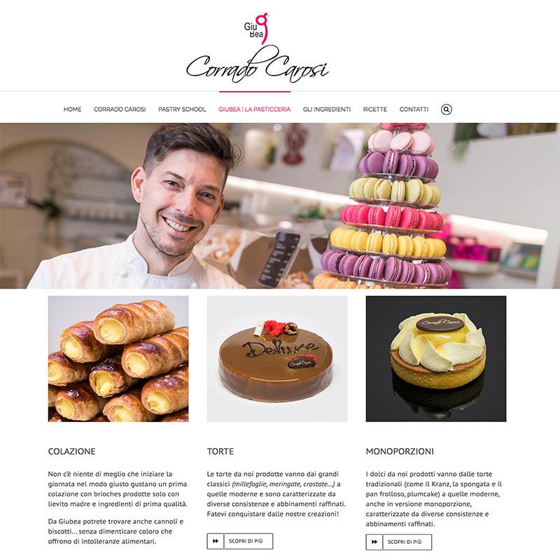 Corrado Carosi Pastry chef