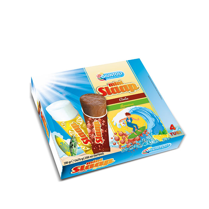 Packaging mini slap Gelati Giuntoli